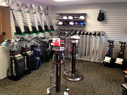 Missoula Country Club Pro Shop Club and Gear Selection