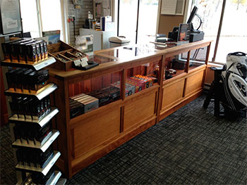 Missoula Country Club Front Desk at Pro Shop